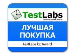 Награда TestLabs.kz Kingston SSDNow 300V